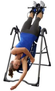 Inversion Table for Hip Pain